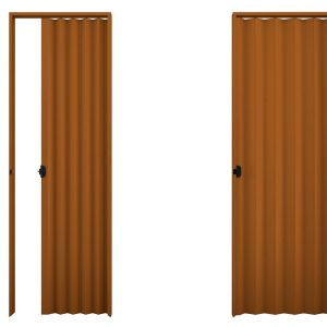 Porta PVC Plasbil 60cm Mogno